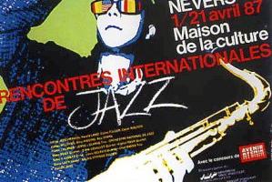 jazz affiche vintage