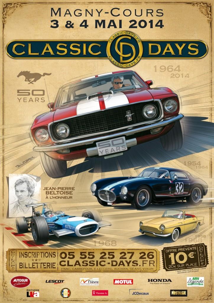 Affiche Classic Days