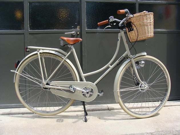 Un vélo Achielle, aux courbes parfaites
