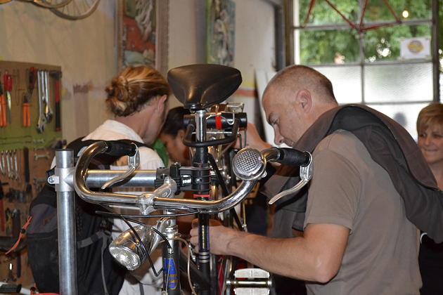A La Cantine, on apprend à réparer son vélo !