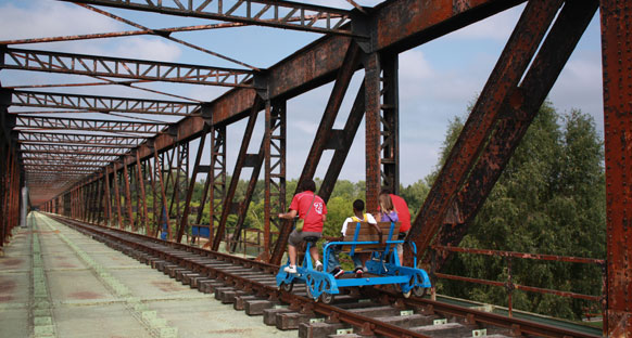Une balade en Cyclo-Rail