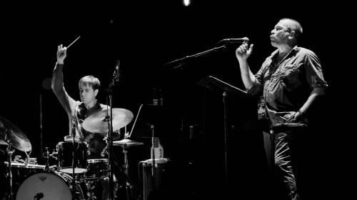 Edward Perraud, Philippe Torreton et Christian Taillemite - Crédit photo : D'Jazz Nevers Festival